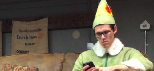 Courtesy photo of Dakota Lovins, as Buddy the Elf.