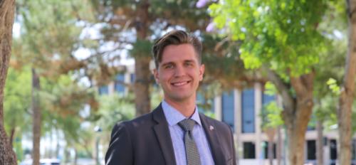 Arizona State University Political Science major Derek Duba