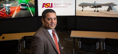 Arizona State University School of Public Affairs professor Kevin DeSouza