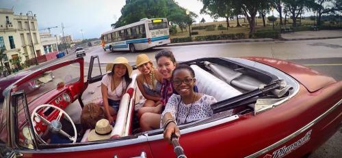 Diana Chen in Cuba