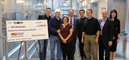 Dorothy Foundation check presentation