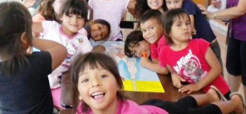 Camp H.O.P.E. kids in Mexico