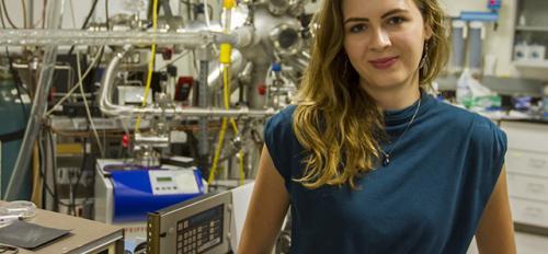 ASU engineering student Sarah Galvin