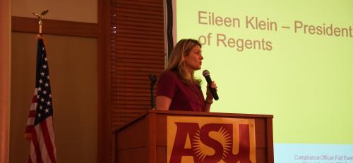 Eileen Klein, ABOR President