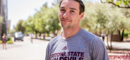 Blake Elliott, graduate student in ASU Department of Psychology