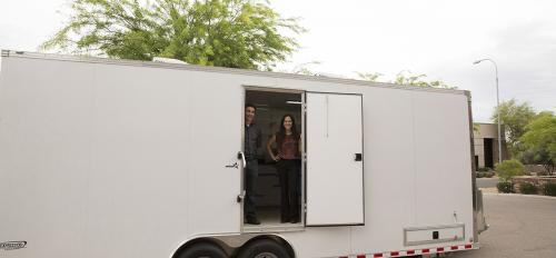 Engineering Smiles mobile dental clinic