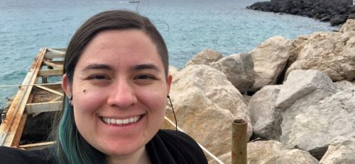 ASU student Erin Bottino in Capri / Courtesy photo