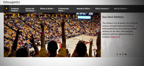 Ethics@ASU Website Launches