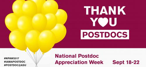 Thank you postdocs