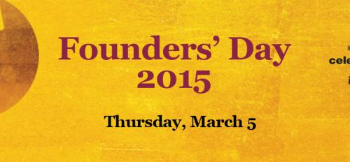 Founders' Day 2015