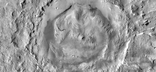Gale Crater image mosaic