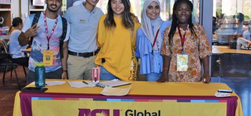 Global Launch student ambassadors.