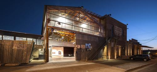 ASU Grant Street Studios exterior. Photo by Craig Smith.