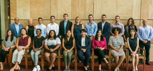 Photo of first cohort of Advance Program students of the Sandra Day O'Connor College of Law