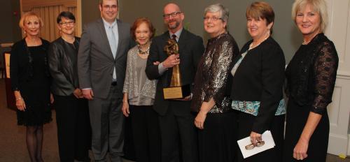 David Coon, PhD receives the Rosalynn Carter Leadership Award