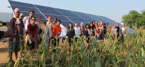 ASU students install solar irrigation solutions in Nepal