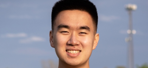 Harrison Zhang will serve as the 2021 Cronkite Convocation speaker.