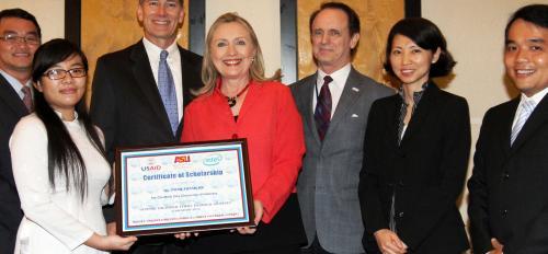Hillary Clinton ASU program