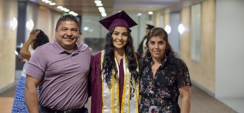 Hispanic Mother Daughter Program ASU spring 2019 graduate Jackelyne Arevalo