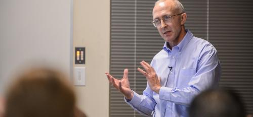 IARPA Director Peter Highnam visits ASU