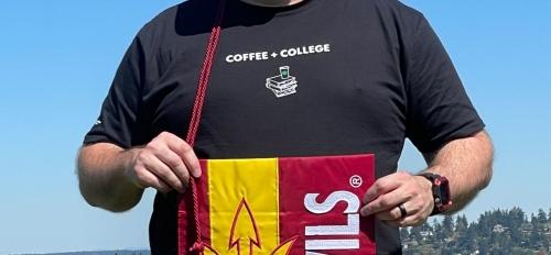 Starbucks partner and 2021 Graduate Monty Burich