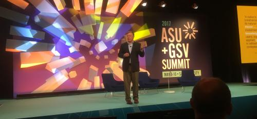 Michael Crow at GSV Summit