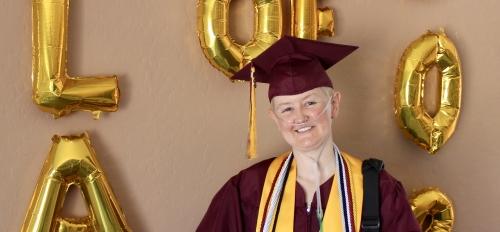 ASU graduate Melanie Roemer