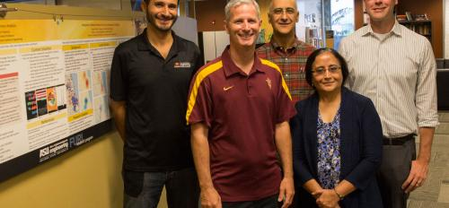 An interdisciplinary team from ASU is collaborating to create a set of tools to help decision makers sustainably address the future of food, energy and water system policy in the Phoenix metropolitan area and beyond.