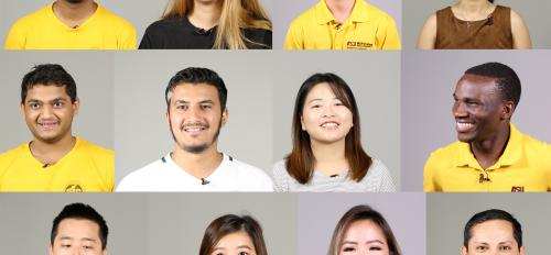 ASU international students