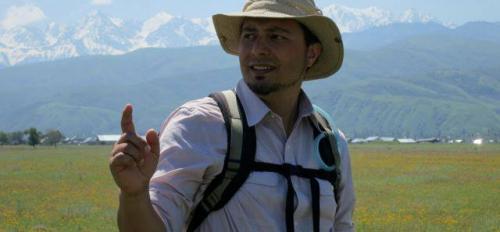 ASU archaeology postdoc Isaac Ullah