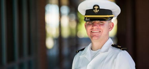 ASU graduate James Feddern