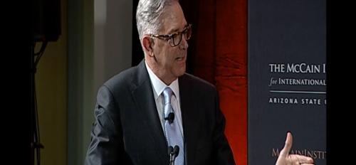 Jeff Cunningham, Professor of Practice, Arizona State University, McCain Institute