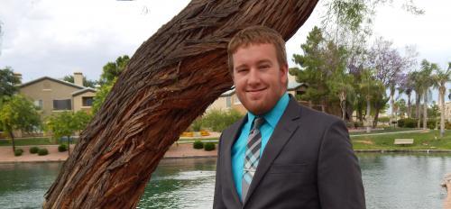 John Logan Johnson global studies major at ASU