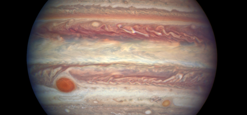 NASA Hubble photo of Jupiter