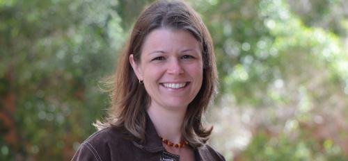 portrait of ASU professor Karen Sweazea
