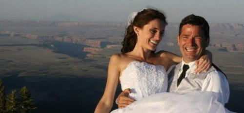 Andrew Holycross and Ioana Hociota wedding Grand Canyon