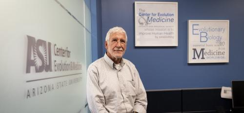 Ken Buetow came to ASU in 2012 from the Cancer Research Institute. Now, as the director of the Center for Evolution and Medicine, he'll help take the interdisciplinary center into its next developmental stage.
