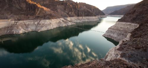Lake Mead at sunrise