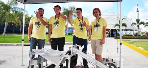 ASU Lunabotics team