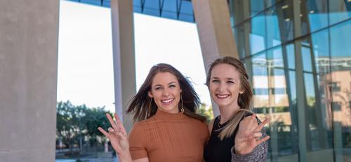 Arizona State University students Sonia Sabrowsky and Madison Sutton, both seniors in the Department of Psychology and Barrett, the Honors College, decided they had to do something to try and prevent teen suicide.