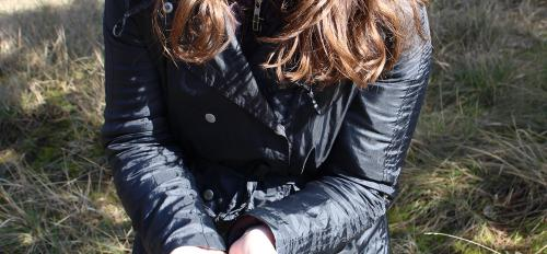 student holding truffle in Italy
