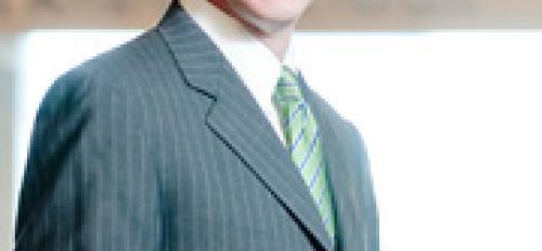 portrait of Cronkite Dean Mark Lodato