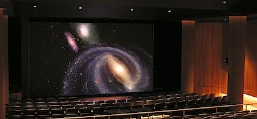 Interior view of SESE's Marston Exploration Theater