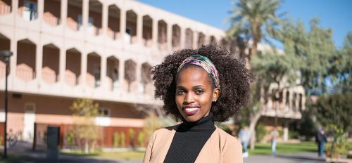 Marglory Moshi, ASU psychology student