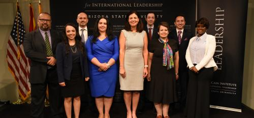 McCain Institute Next Generation Leaders Program 2016 cohort graduation