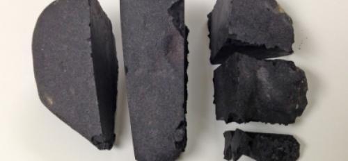 meteorite divided