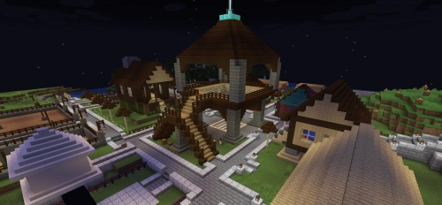 Image from a sttudent made Minecraft gaming server