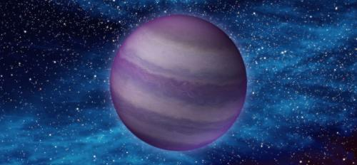 NASA artist image of brown dwarf