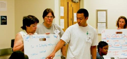 Teachers participate in ASU's Modeling Instruction Program