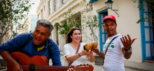 ASU student on her study abroad to Cuba